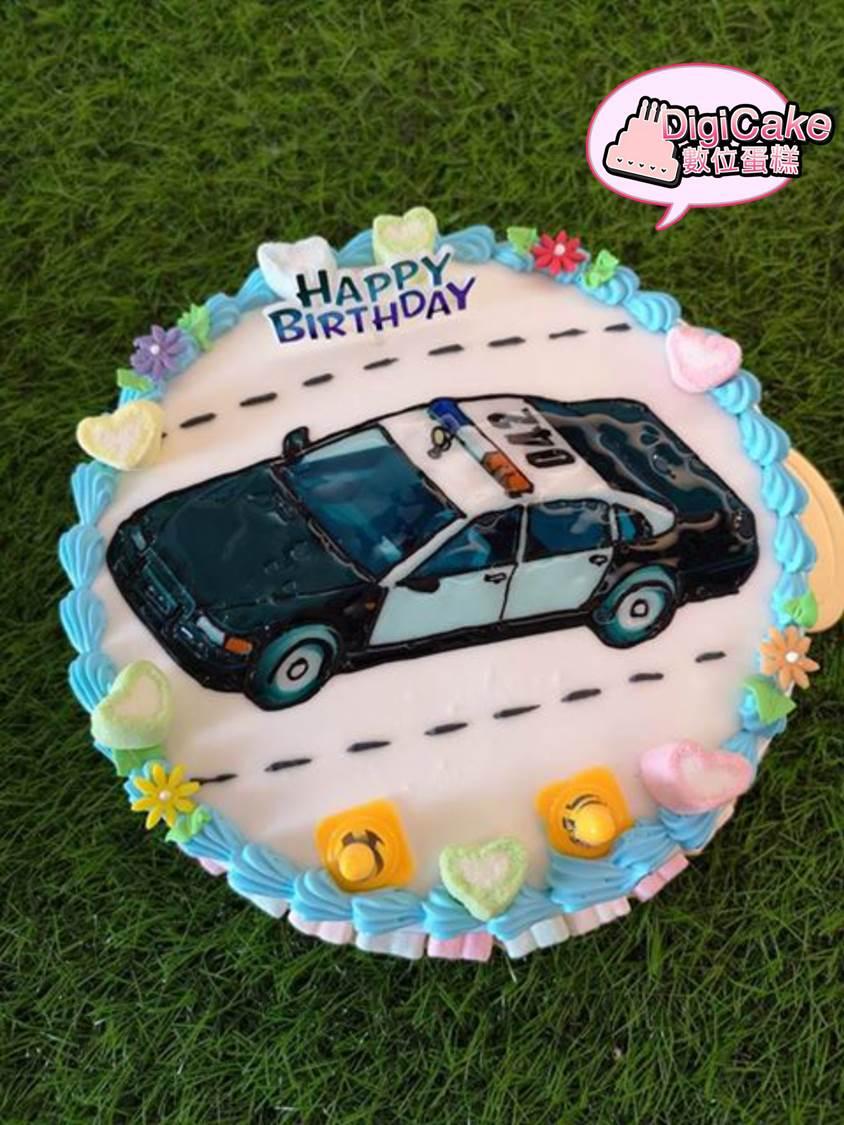 點此進入警車 手繪蛋糕的詳細資料!