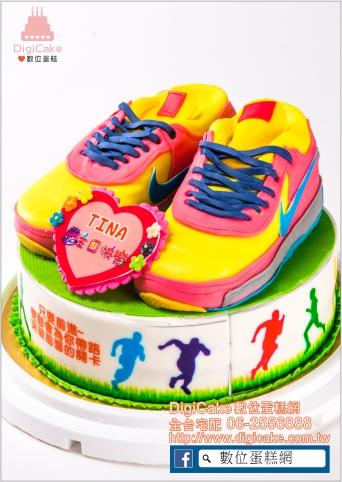 點此進入加高飛人球鞋(黃)立體造型蛋糕的詳細資料!