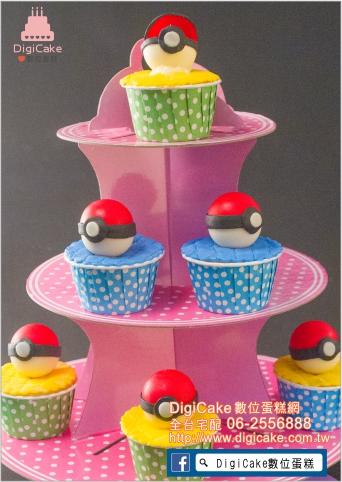 點此進入精靈球造型杯子蛋糕的詳細資料!