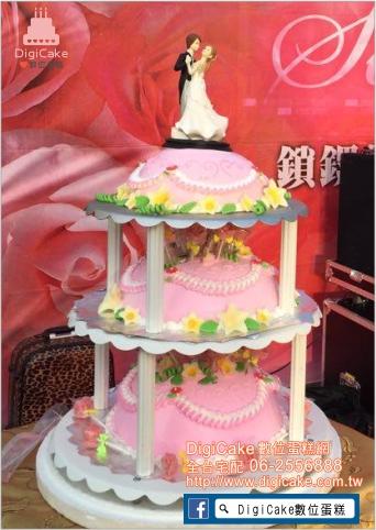 點此進入三層婚禮蛋糕的詳細資料!