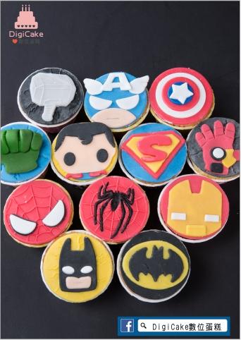 點此進入英雄聯萌造型杯子蛋糕的詳細資料!