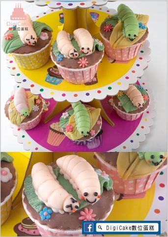 點此進入可愛蟲蟲饗宴杯子蛋糕的詳細資料!