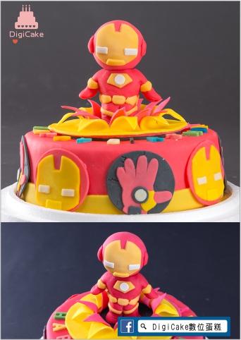 點此進入翻糖鋼鐵戰士造型蛋糕的詳細資料!