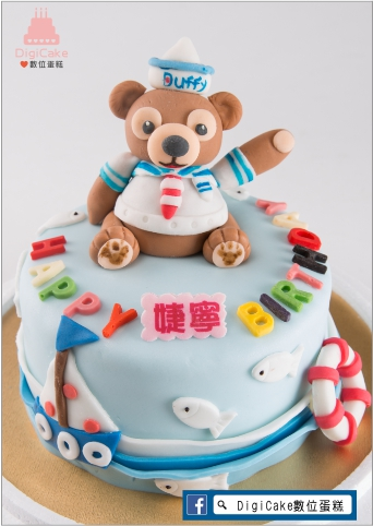 點此進入水手熊翻糖造型蛋糕的詳細資料!