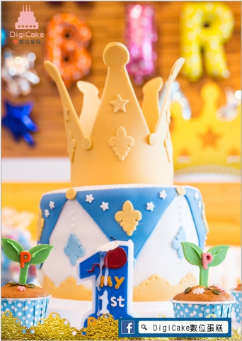 點此進入小王子週歲翻糖蛋糕的詳細資料!