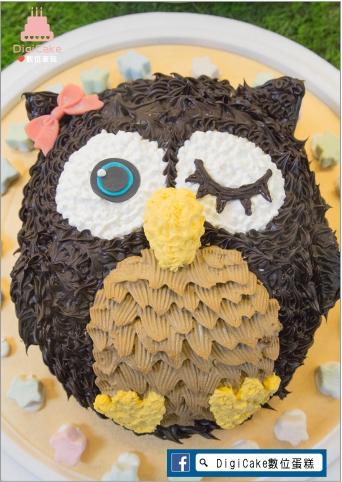 點此進入貓頭鷹造型蛋糕的詳細資料!