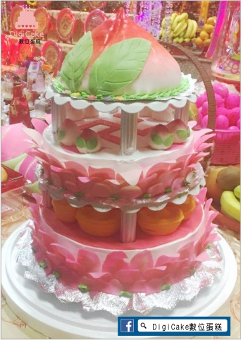 點此進入三層桃卍寶翻糖造型蛋糕的詳細資料!
