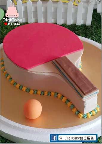 點此進入乒乓球拍造型蛋糕的詳細資料!