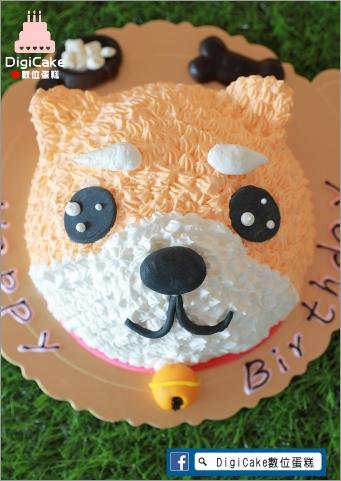 點此進入可愛柴犬造型蛋糕的詳細資料!
