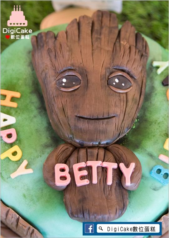 點此進入樹人格魯特寶寶翻糖造型蛋糕的詳細資料!