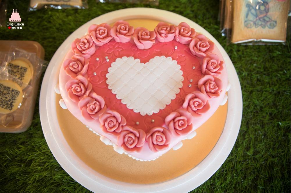 嫁给我吧!戒指求婚蛋糕图片