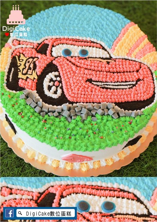 點此進入2D閃電麥坤造型蛋糕的詳細資料!