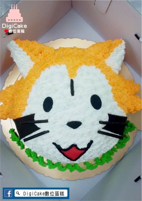 點此進入3D狸貓造型蛋糕的詳細資料!