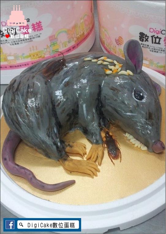 點此進入死老鼠翻糖造型蛋糕的詳細資料!