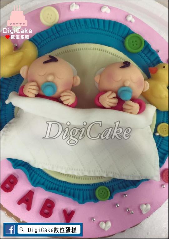點此進入翻糖雙胞胎公仔造型蛋糕的詳細資料!