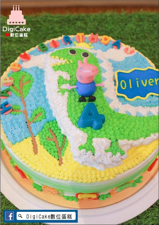 點此進入喬治與恐龍造型蛋糕的詳細資料!