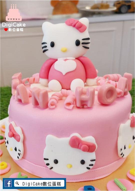 點此進入翻糖無嘴貓圍邊蛋糕的詳細資料!