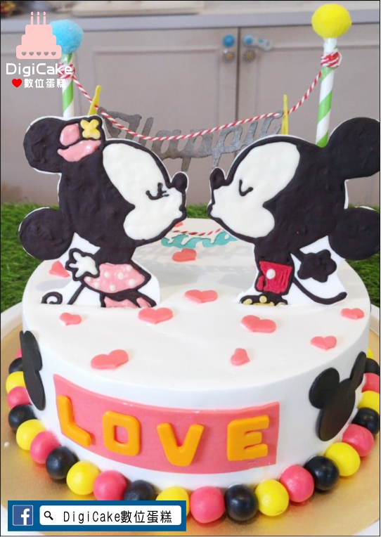 點此進入米奇米妮相親相愛蛋糕的詳細資料!