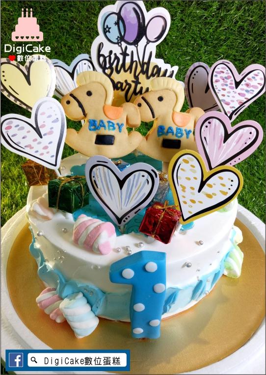 點此進入愛滿滿木馬餅乾造型蛋糕的詳細資料!