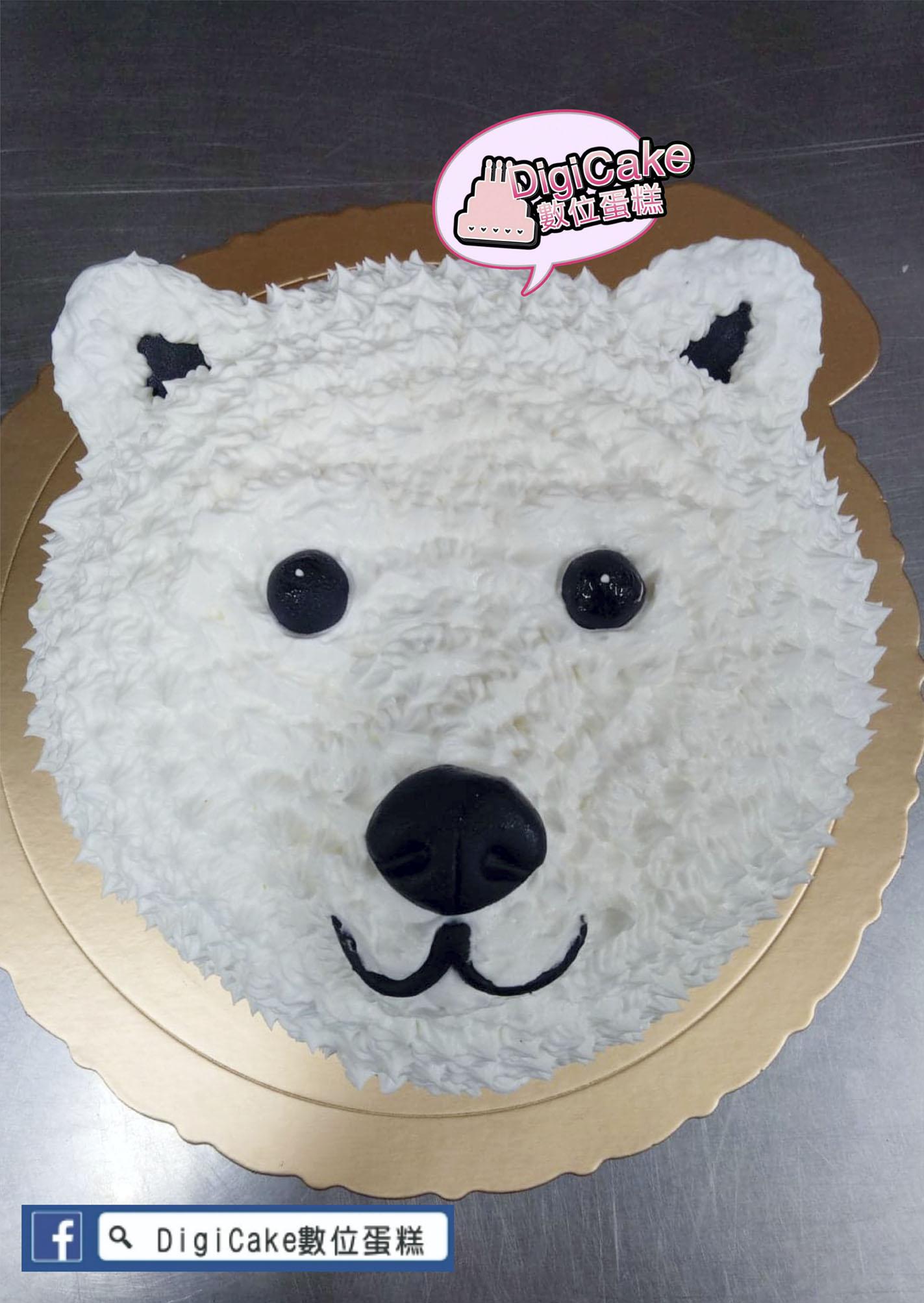 點此進入白北極熊造型蛋糕的詳細資料!