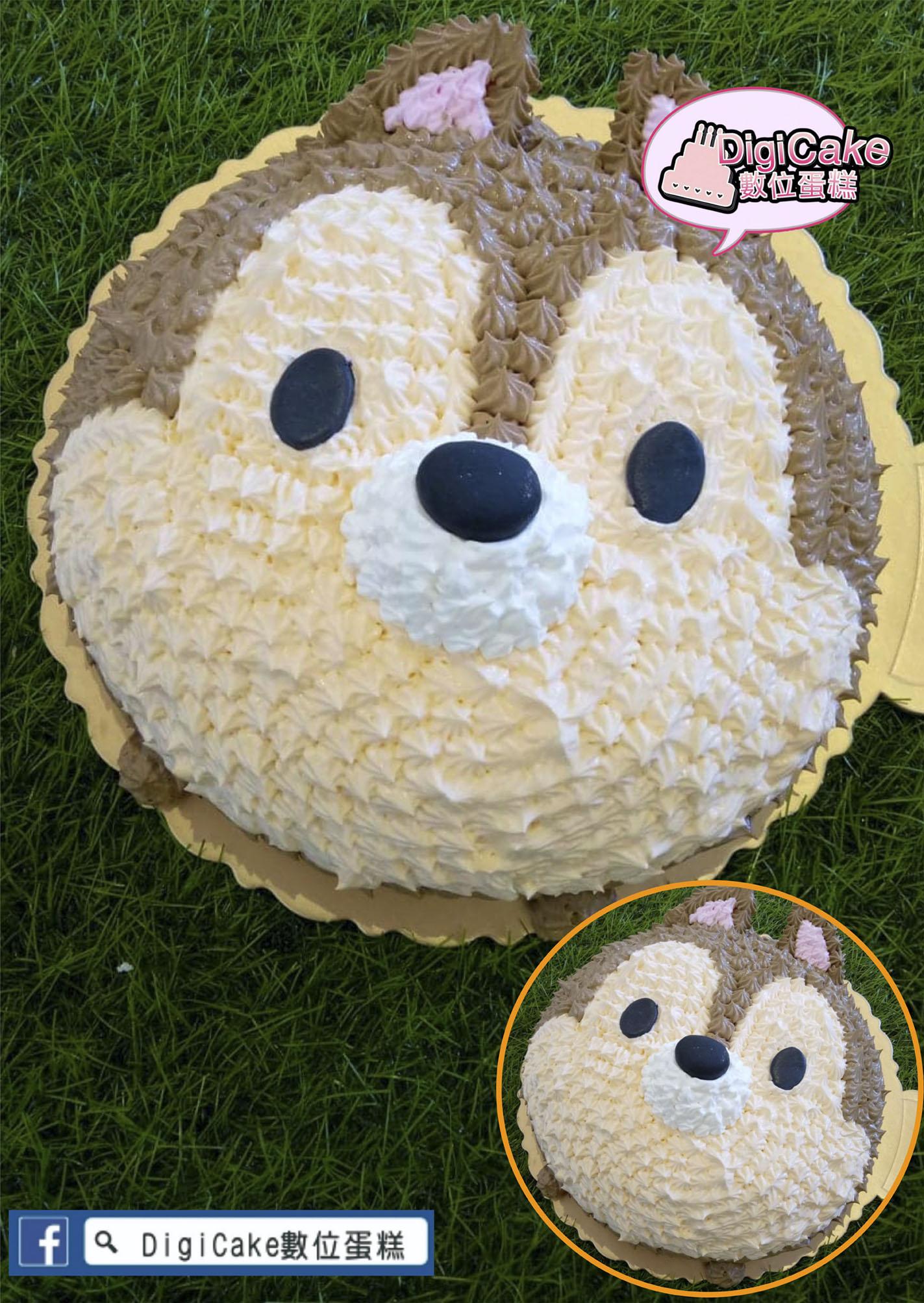 點此進入卡通松鼠3D造型蛋糕的詳細資料!