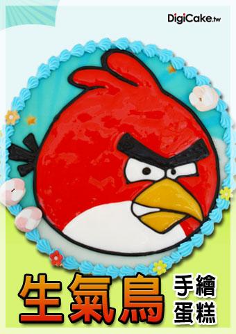 點此進入生氣鳥 手繪蛋糕的詳細資料!