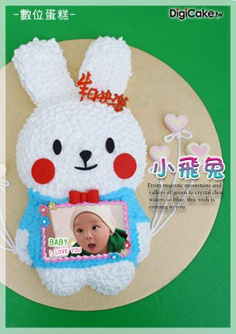 點此進入小飛兔 數位造型蛋糕的詳細資料!